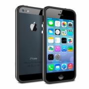 Чехол Bumper Apple iPhone 5/5S Deppa черный (63115)