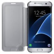Чехол для Samsung Galaxy S7 edge серебристый CLEAR(EF-ZG935CSEGRU)